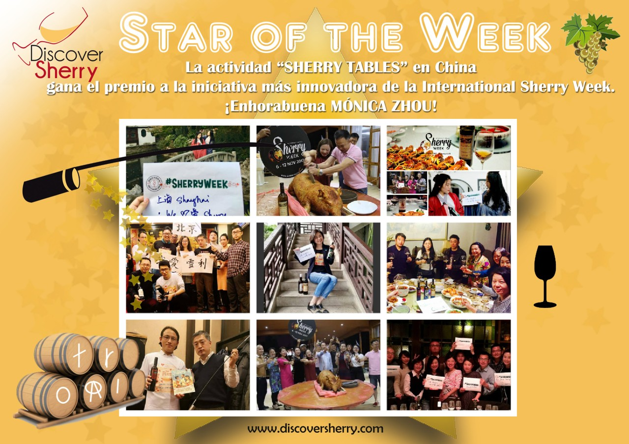 "STAR of the WEEK: ""SHERRY TABLES"" by Shanghai Talentum Trading"