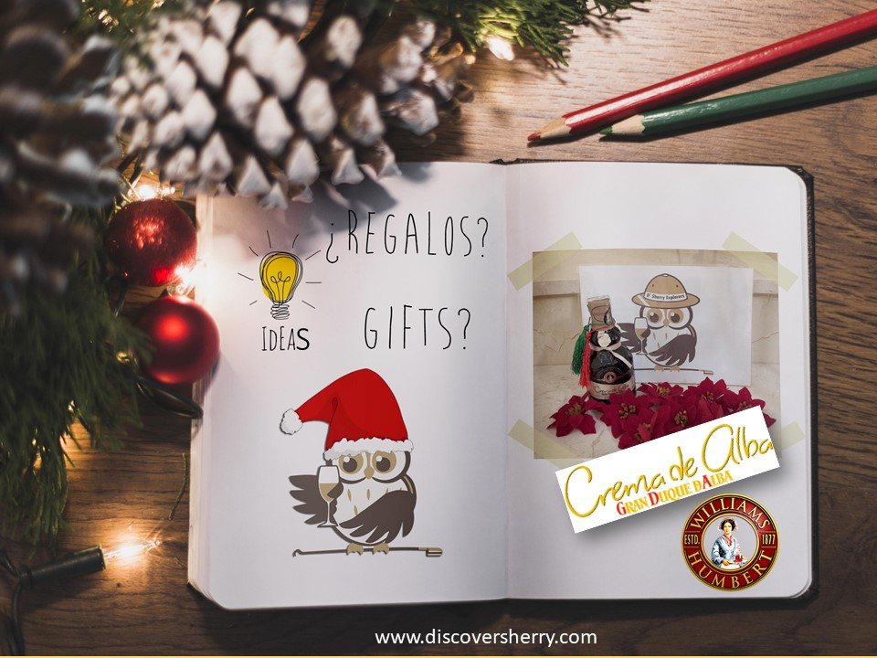 Ideas for Sherry gifts: Crema de Alba  / Ideas para regalos Sherry: Crema de Alba