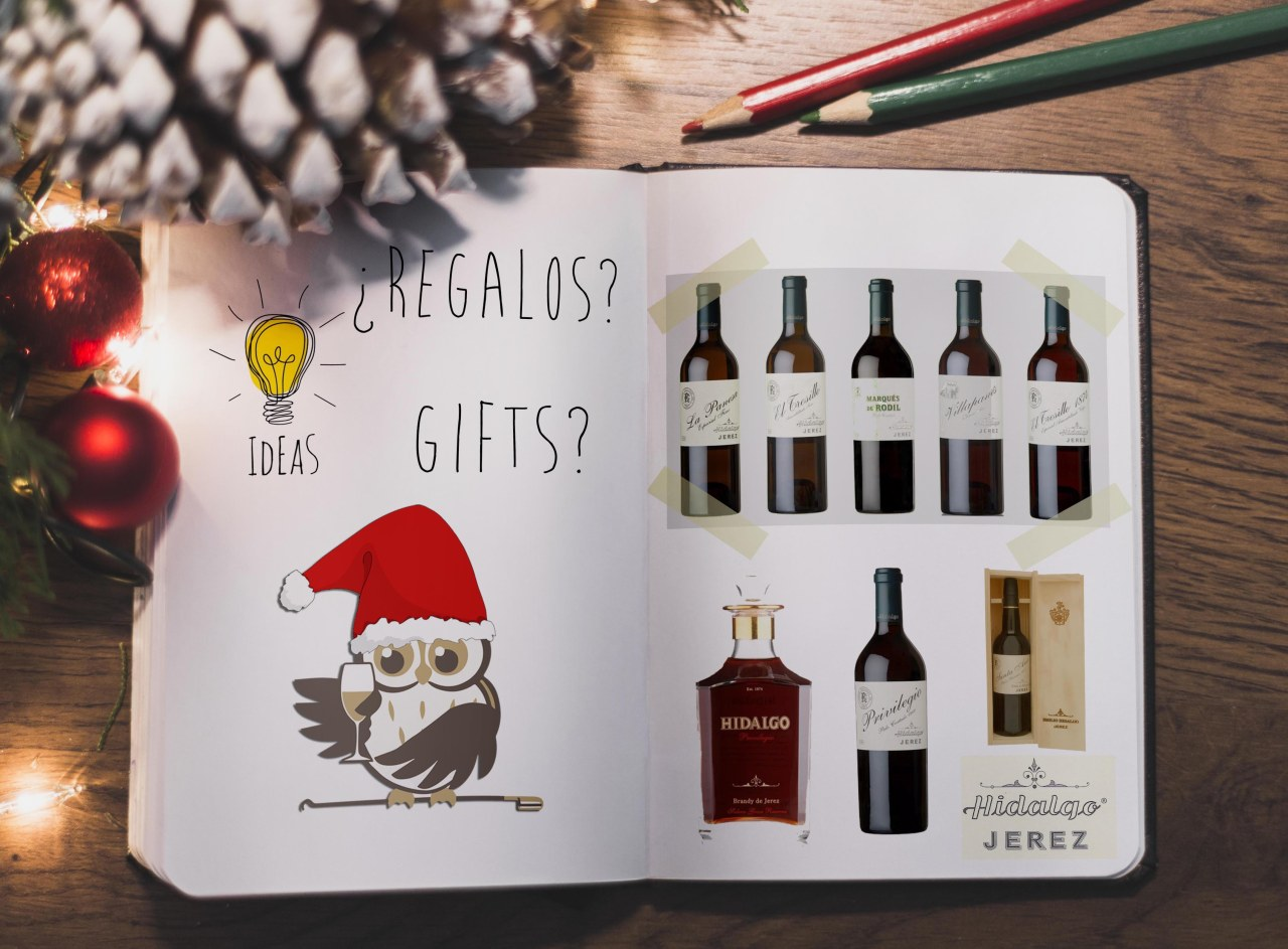 Sherry Gift Ideas: Sherry and Brandy from Bodegas Hidalgo Jerez