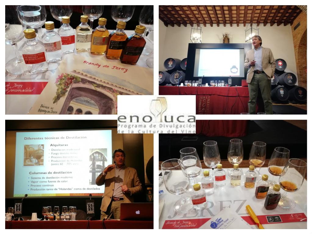 Seminario y Cata sobre el Brandy de Jerez/ Brandy de Jerez Seminar andTasting