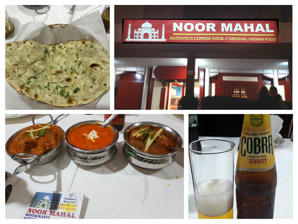 Discover Sherry recommends: Restaurante indio: NOOR MAHAL en Jerez /Noor Mahal Indian Restaurant in Jerez