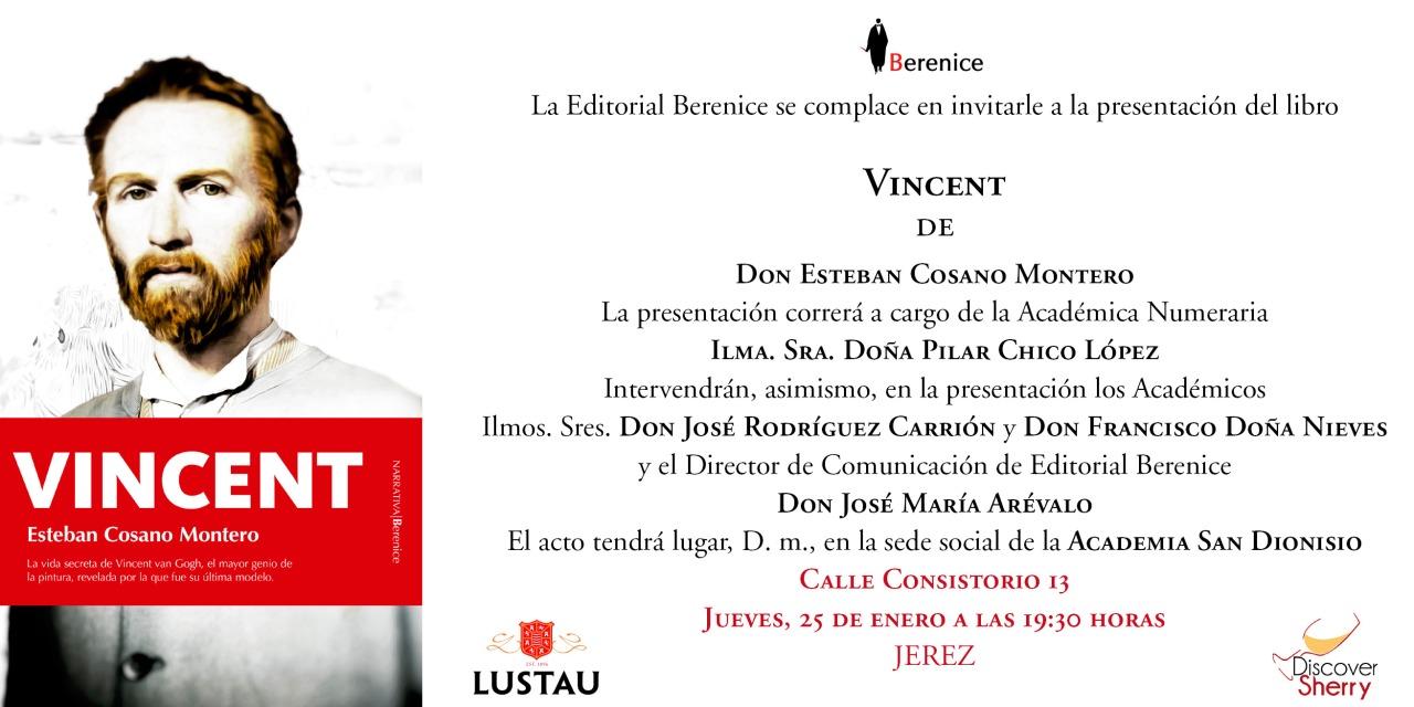 Nuestro amigo y Sherry Explorer Esteban Cosano presenta su nuevo libro(Spanish)