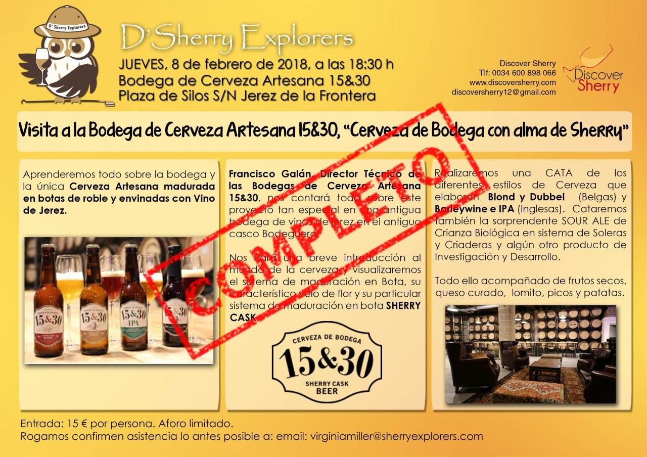 COMPLETA la visita a la Bodega de Cerveza Artesana15/30