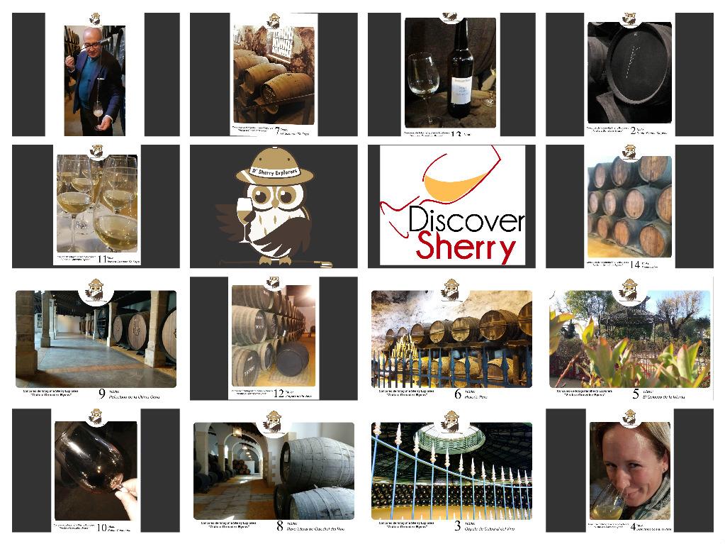 Concurso de Fotografía de los Sherry Explorers: Visita a la Bodega Tío Pepe /Photo Contest Sherrry Explorer Visit to Gonzalez ByassWinery