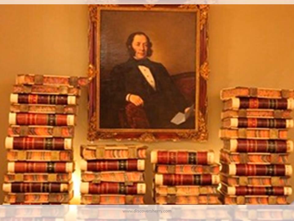 Visita de los Sherry Explorers al Archivo Histórico de la Fundación González Byass/Sherry Explorers´visit to the Historic Archives of the Gonzalez ByassFoundation