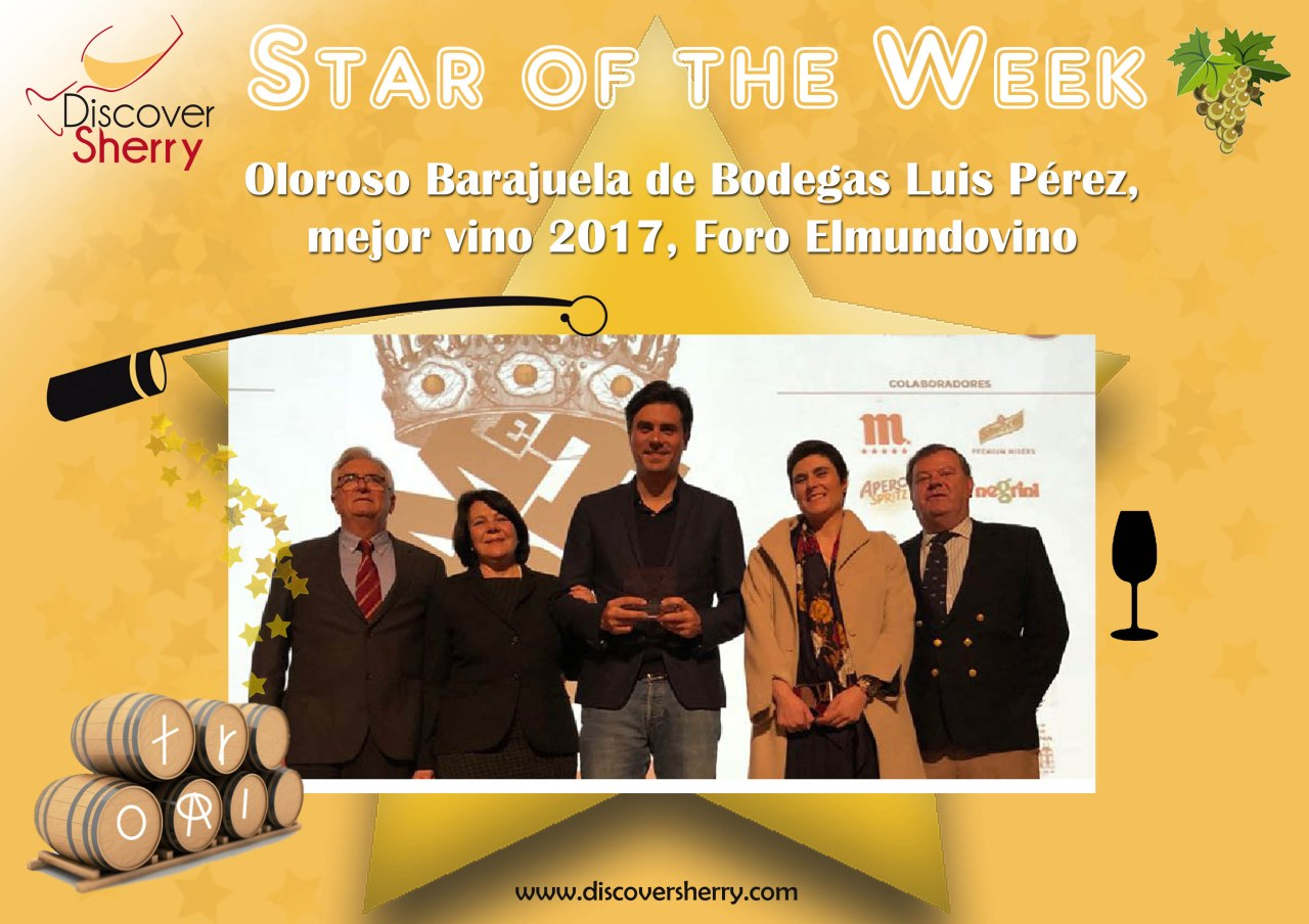 Star of the Week: Oloroso Barajuela de Bodegas Luis Pérez