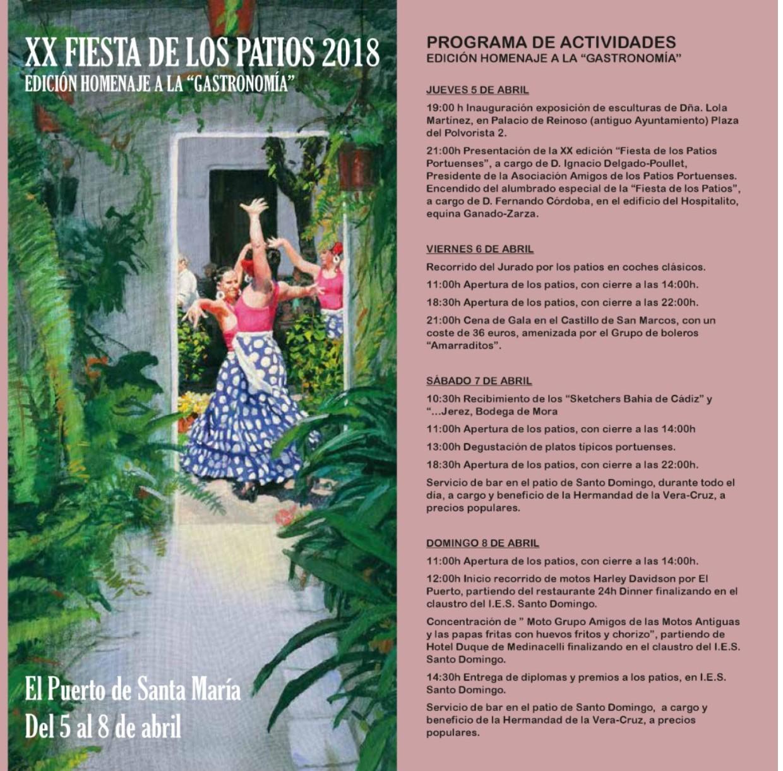 XX Fiesta de los Patios de El Puerto/20th Fiesta de los Patios in El Puerto de SantaMaria