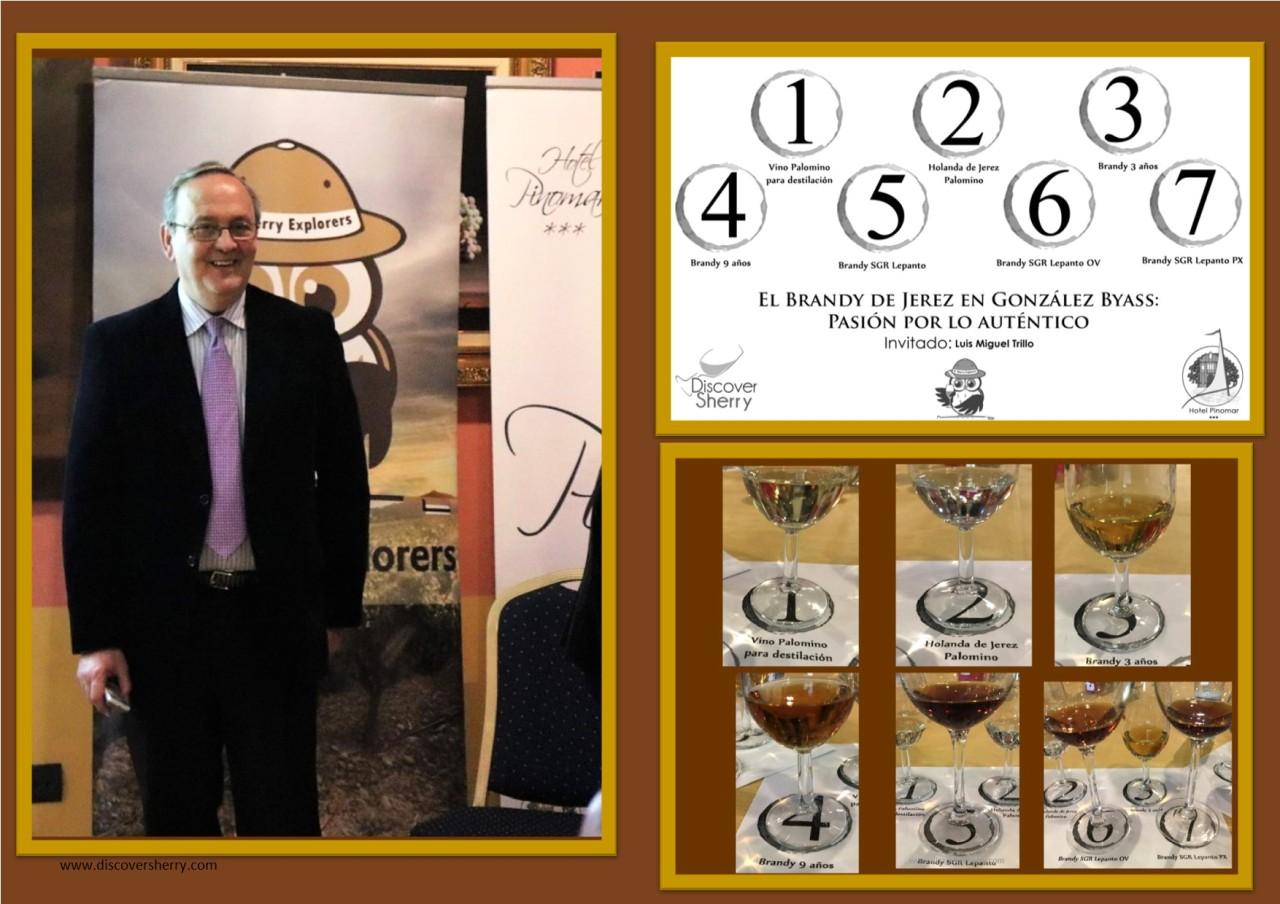 Luis Miguel Trillo nos enseña todo sobre el Brandy de Jerez y González Byass en particular/Luis Miguel Trillo teaches us all about Brandy de Jerez, by focusing on González Byassbrandies