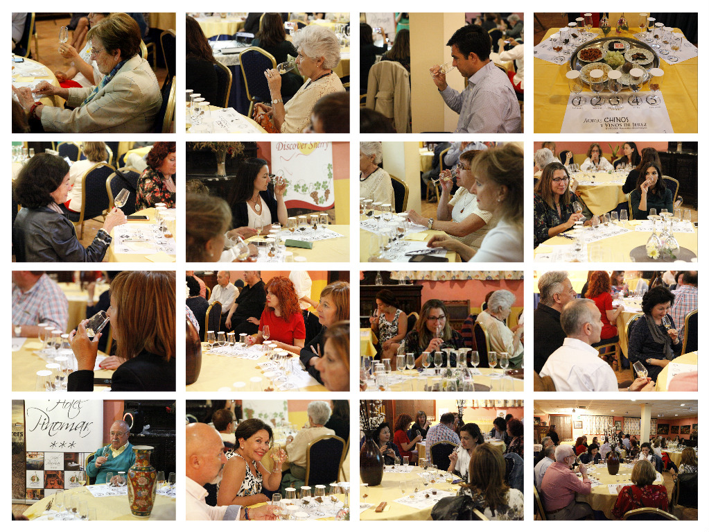 "Aromas Chinos y Vinos de Jerez con Mónica Zhou Y Paco Zhu Guadalquivir/  ""Chinese Aromas and Sherry Wines"" presented by Mónica Zhou and Paco Zhu Guadalquivir"