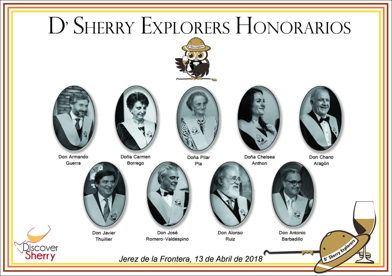 Investidura de los Sherry Explorers Honorarios: Capítulo III Cena de Honor/Investiture of the Honorary Sherry Explorers:  Chapter III, HonorsDinner