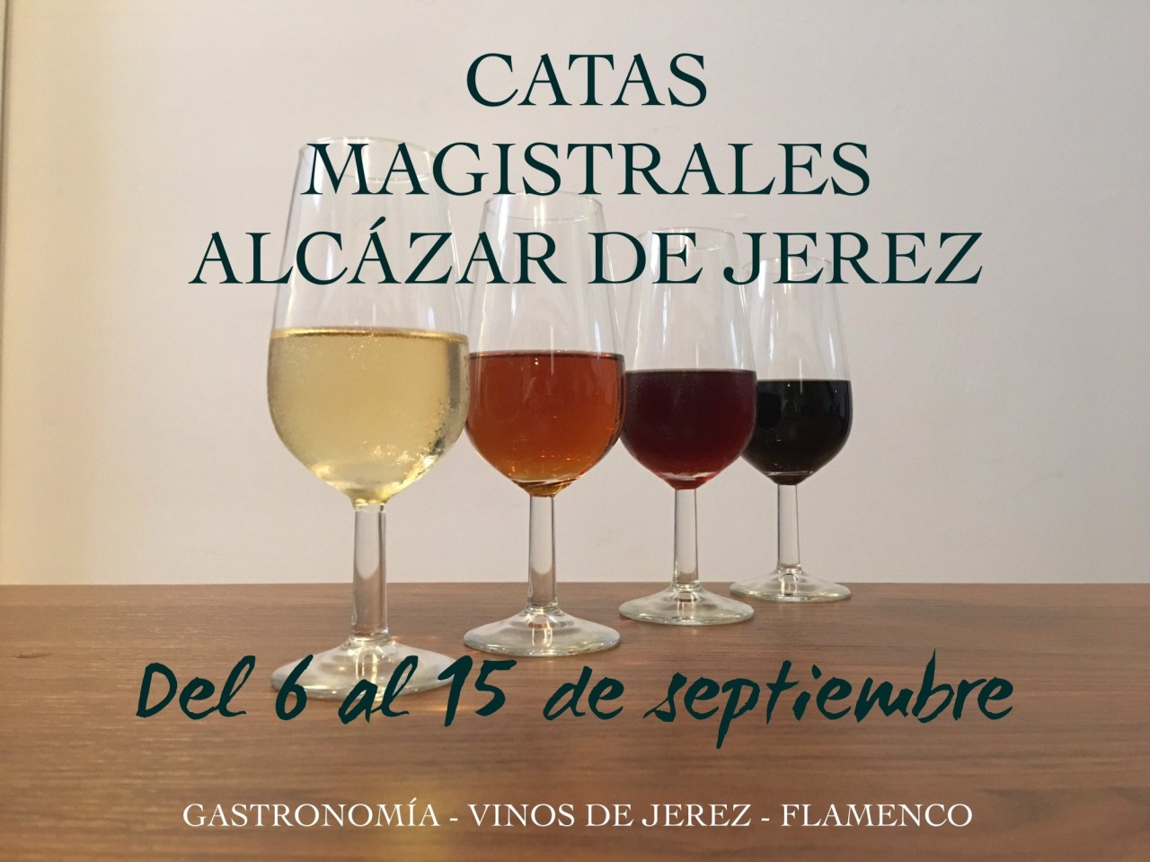 Discover Sherry recommends: Catas Magistrales en el Alcázar de Jerez / Master Wine Tastings at the Jerez Alcázar