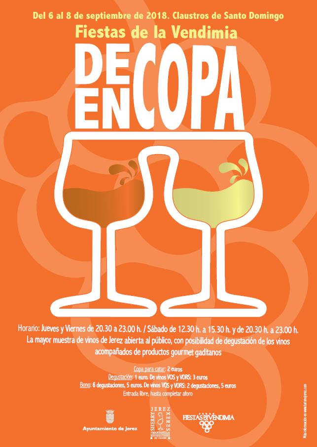 De Copa en Copa en Claustros de Santo Domingo,Jerez