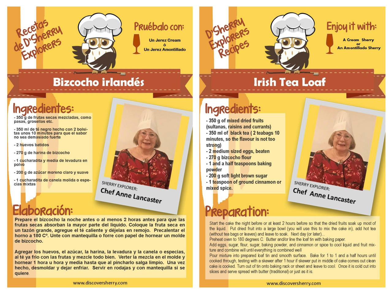Receta de Anne Lancaster: Bizcocho irlandés / Anne Lancaster´s recipe: Irish BreadLoaf