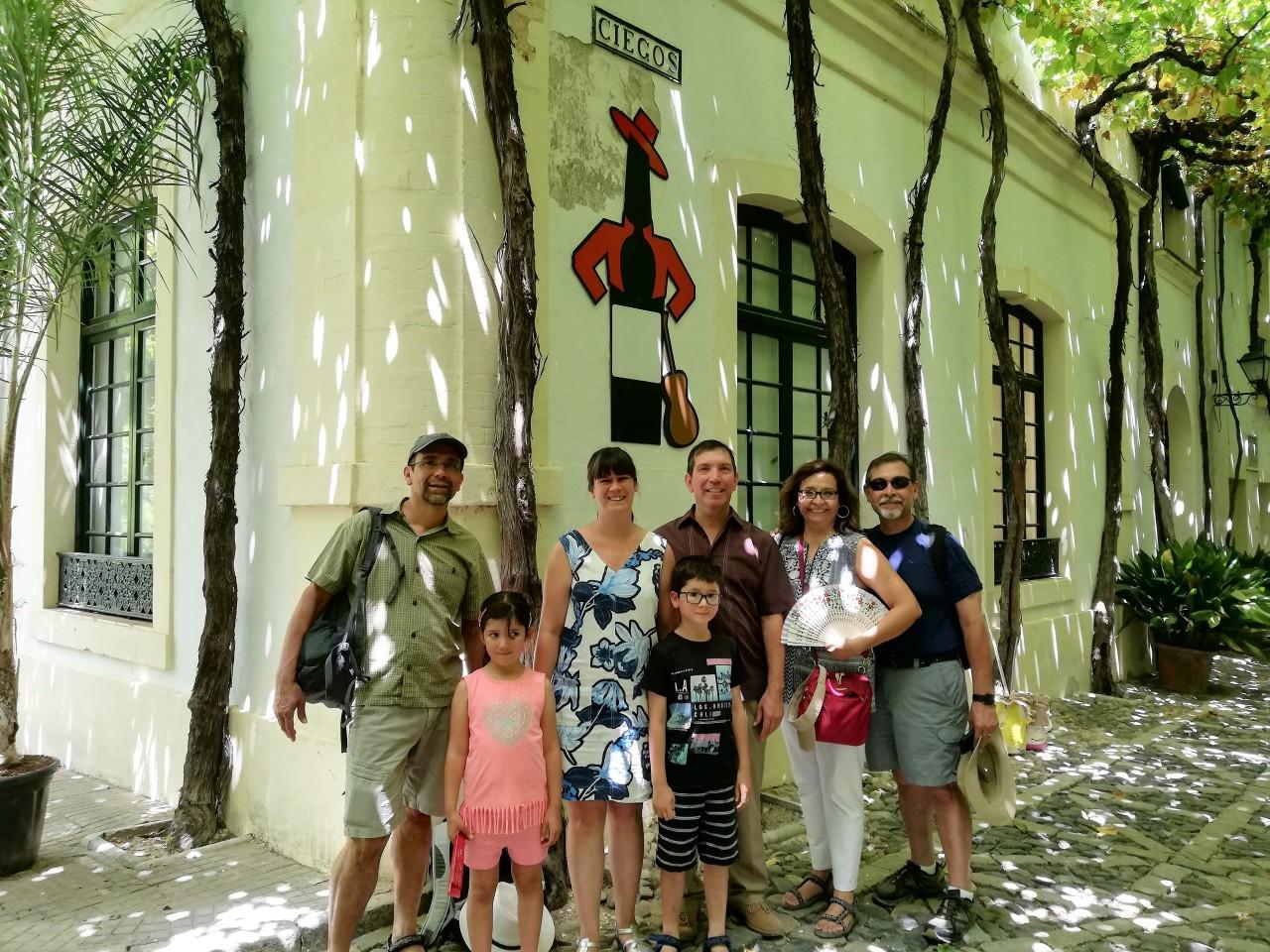 Nos visitan Sherry Explorers de San Antonio, Texas / We received a visit from San Antonio, Texas´ SherryExplorers
