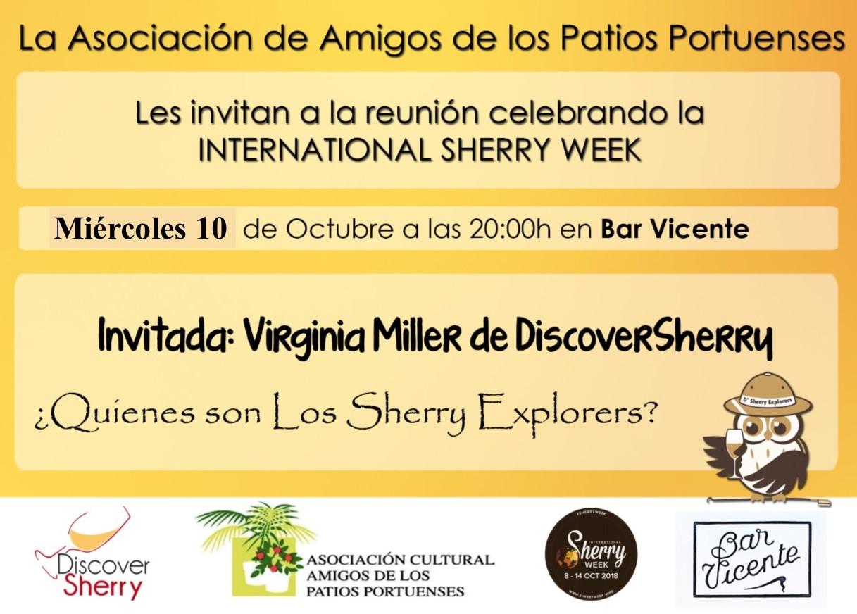 Invitación de la Asociación Amigos de los Patios Portuenses(Spanish)
