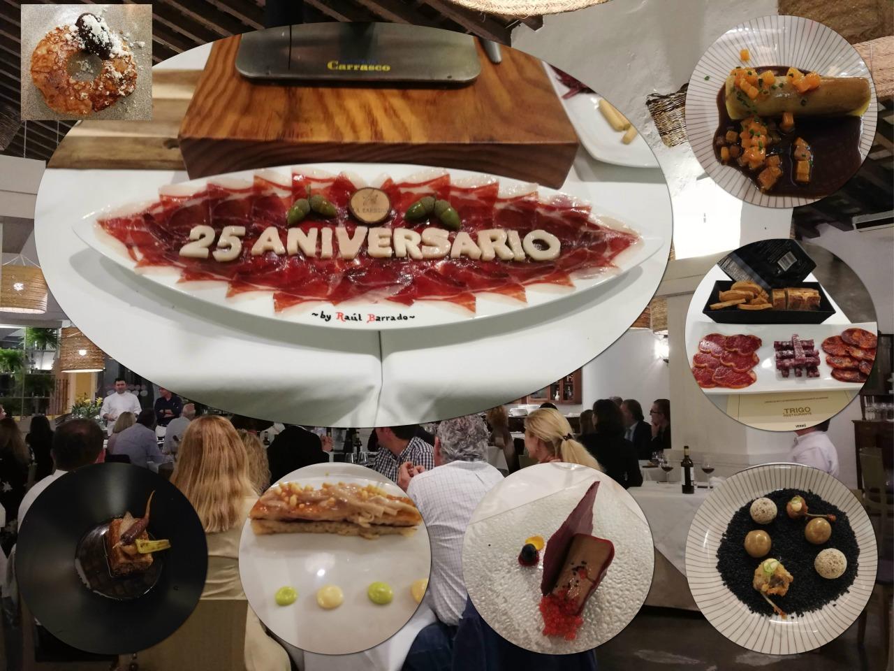 25 aniversario del Restaurante La Carboná de /La Carbona´s 25thAnniversary