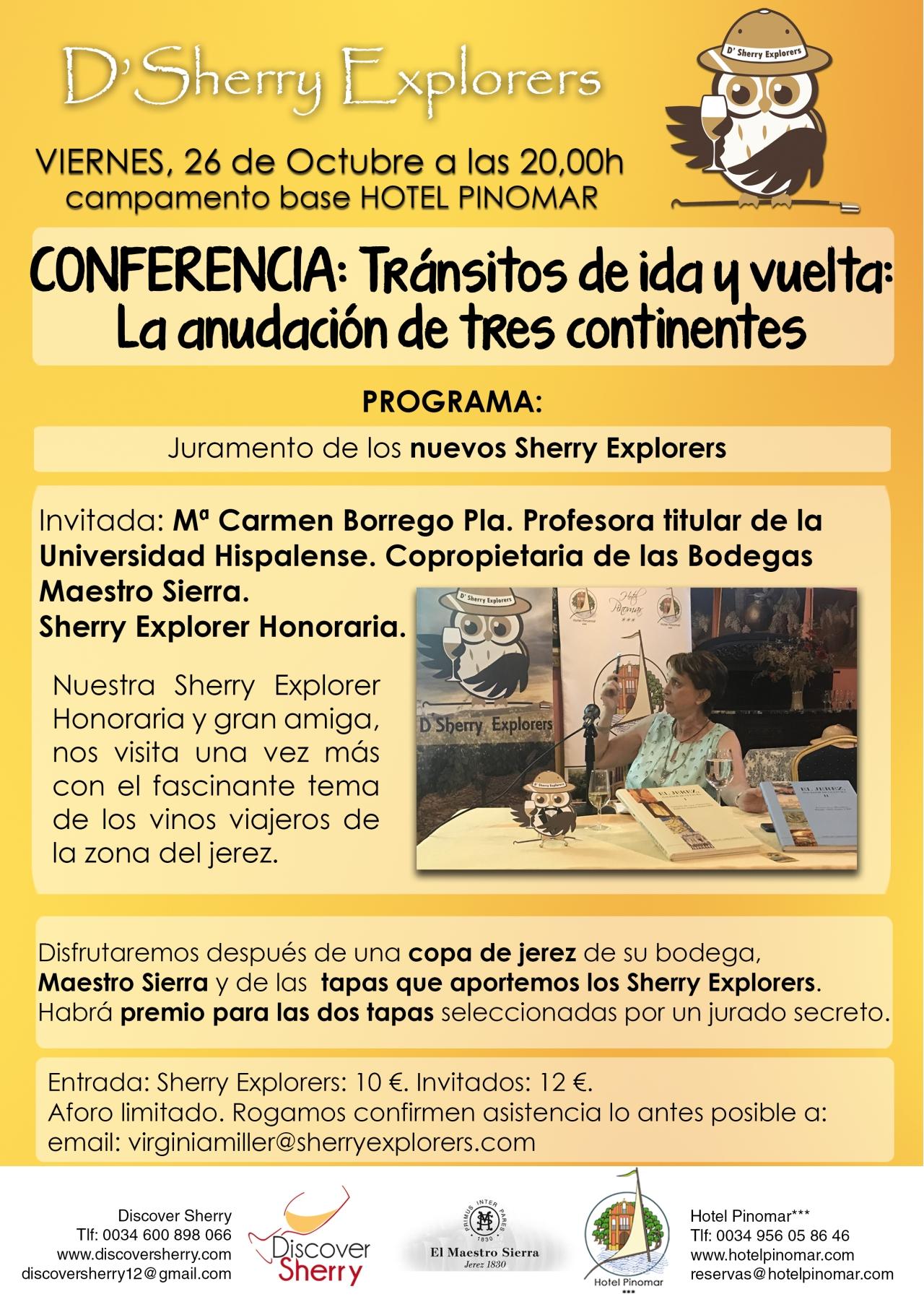 La Dra. Carmen Borrego Pla, nuestra próximainvitada.