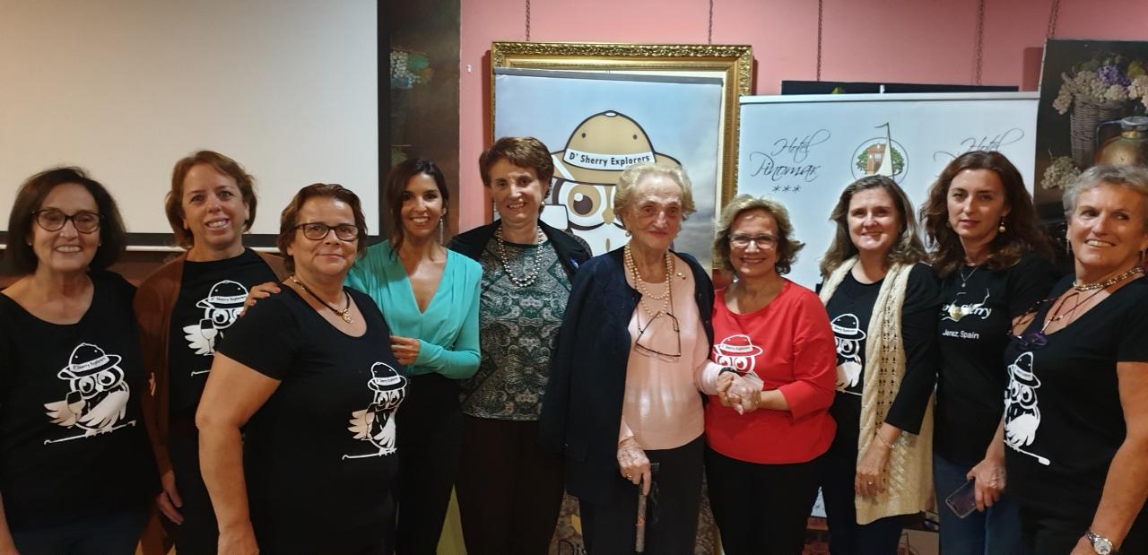 Clase Magistral de la Dra. Carmen Borrego, Sherry Explorer Honoraria/Master-Class presented by Dr. Carmen Borrego, Honorary SherryExplorer