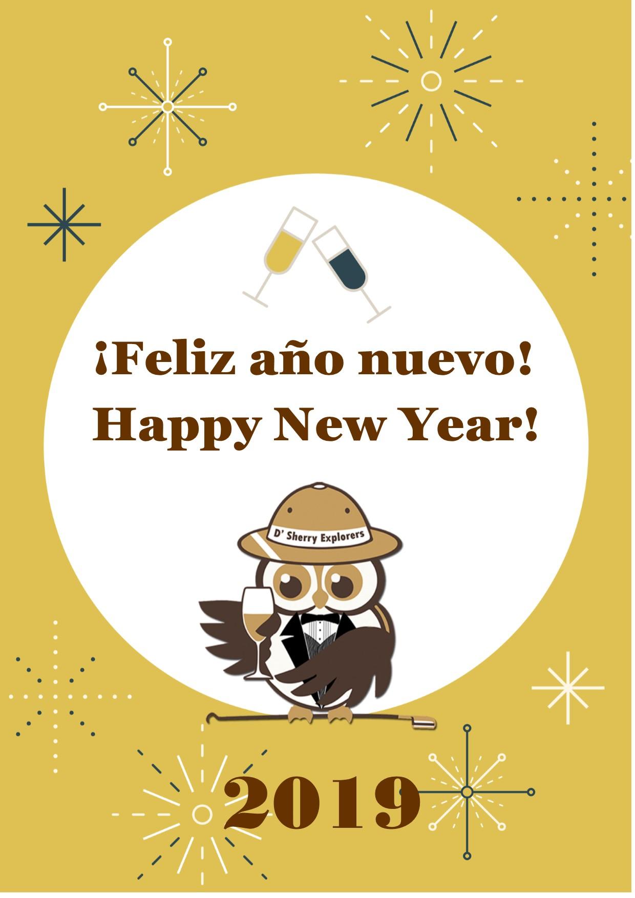 Happy New Year!  ¡Feliz añonuevo!