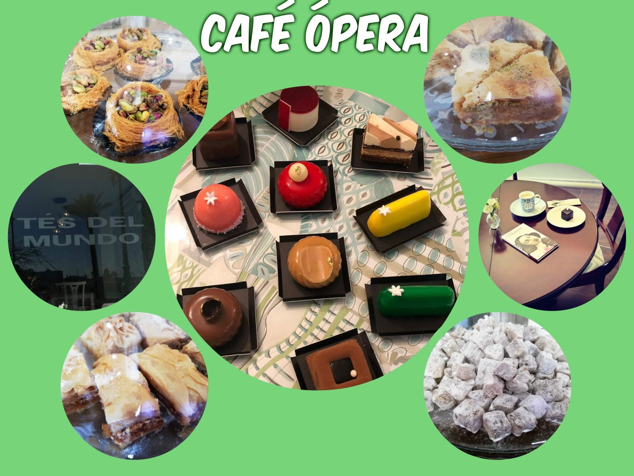 Discover Sherry recommends: Opera Coffee and Tea House (Café Opera)