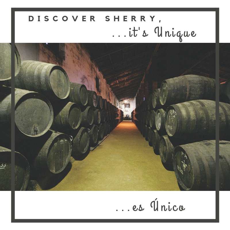 Discover Sherry, it´s… UNIQUE!