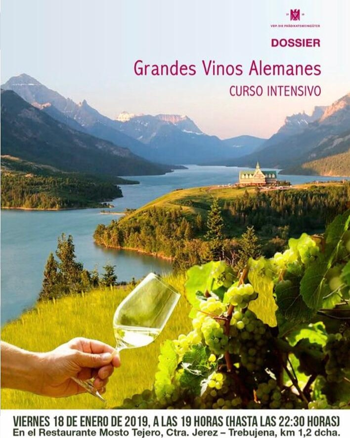 Curso intensivo de vinos alemanes con Tina Heidelberg/Intensive German Wine Course Presented by Tina Heidelberg
