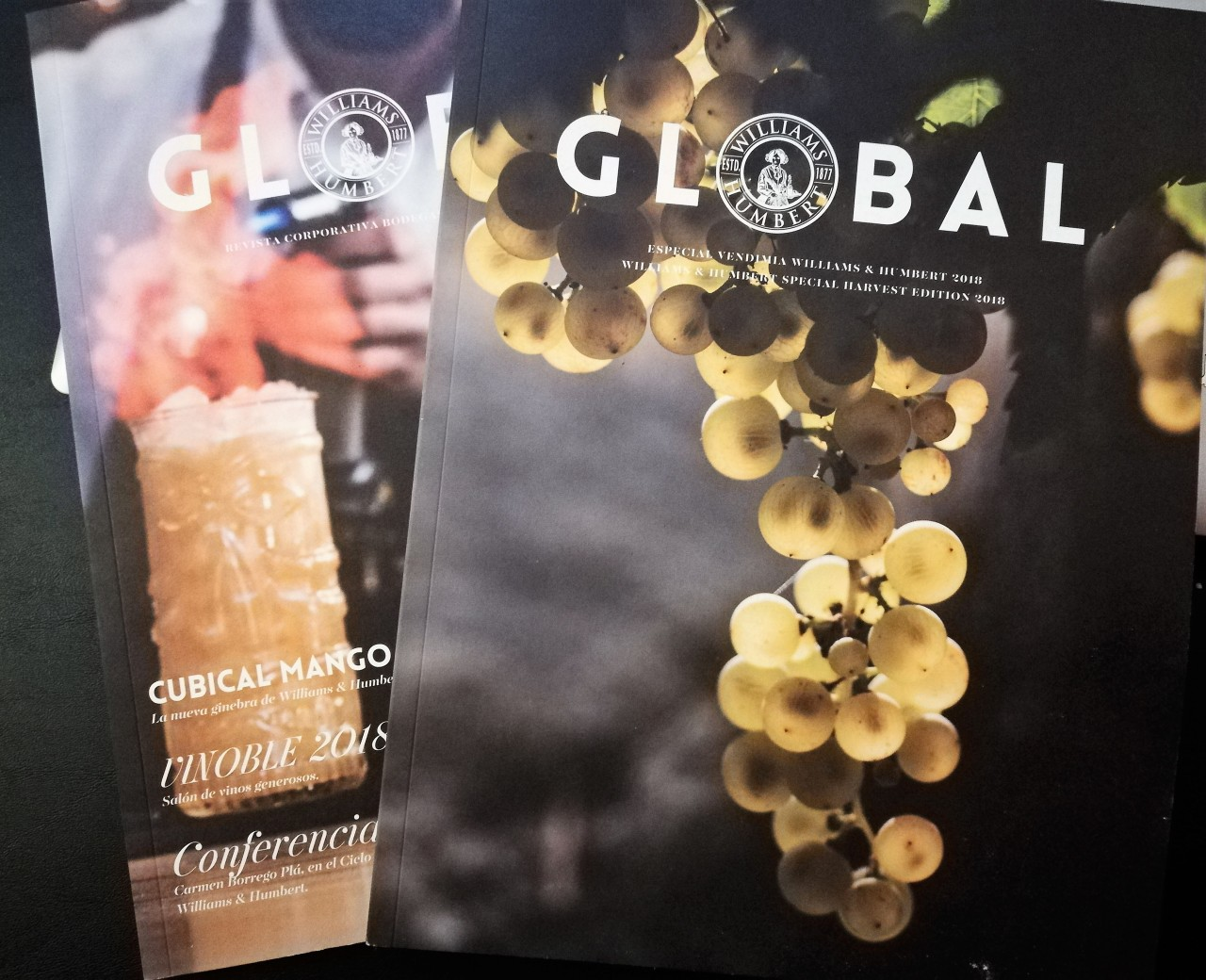 Discover Sherry recommends: Global de Williams andHumbert