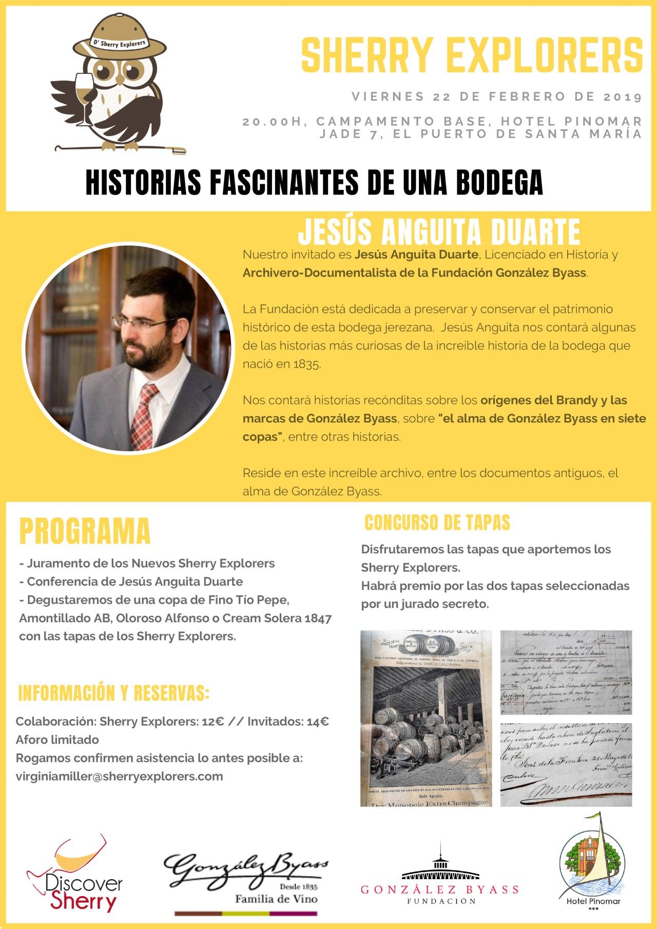 Historias fascinantes de una bodega: Fundación González Byass(Spanish)