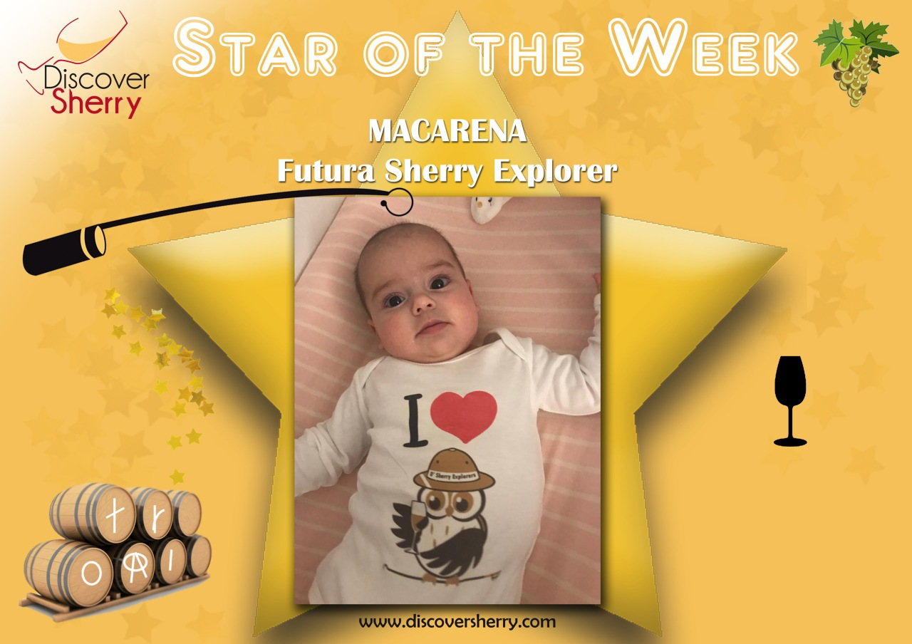 Star of the week: Macarena, futura Sherry Explorer