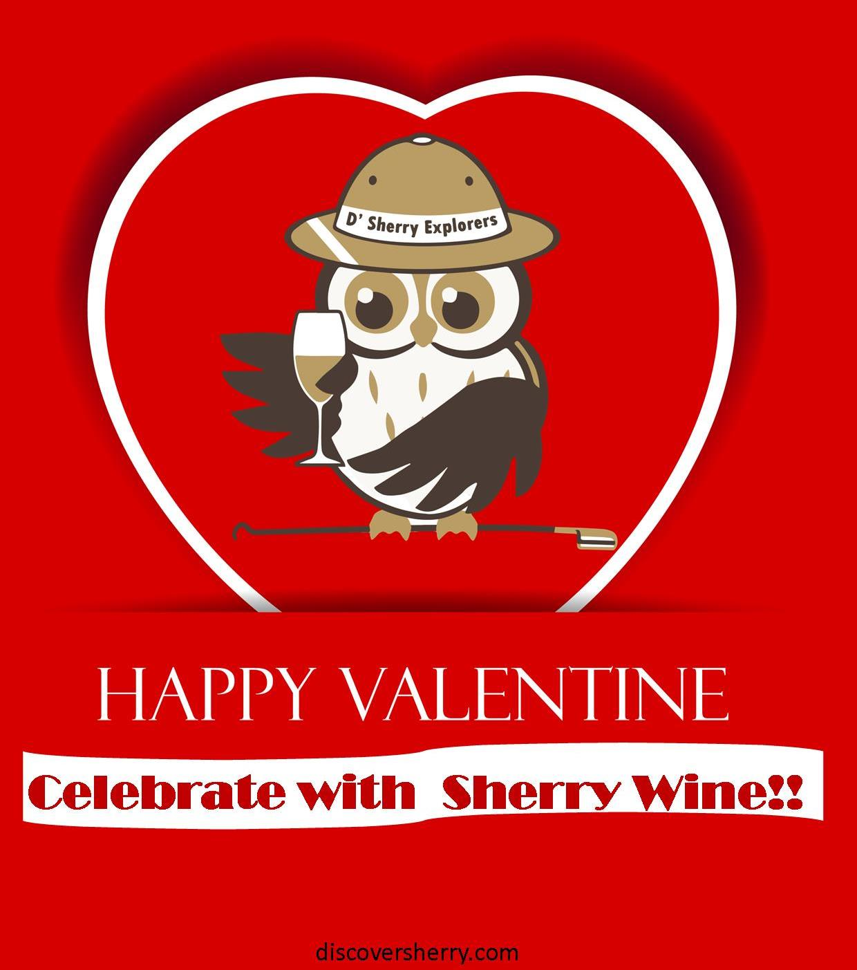 Happy Valentine´s Day to all the Sherry Explorers in the world!