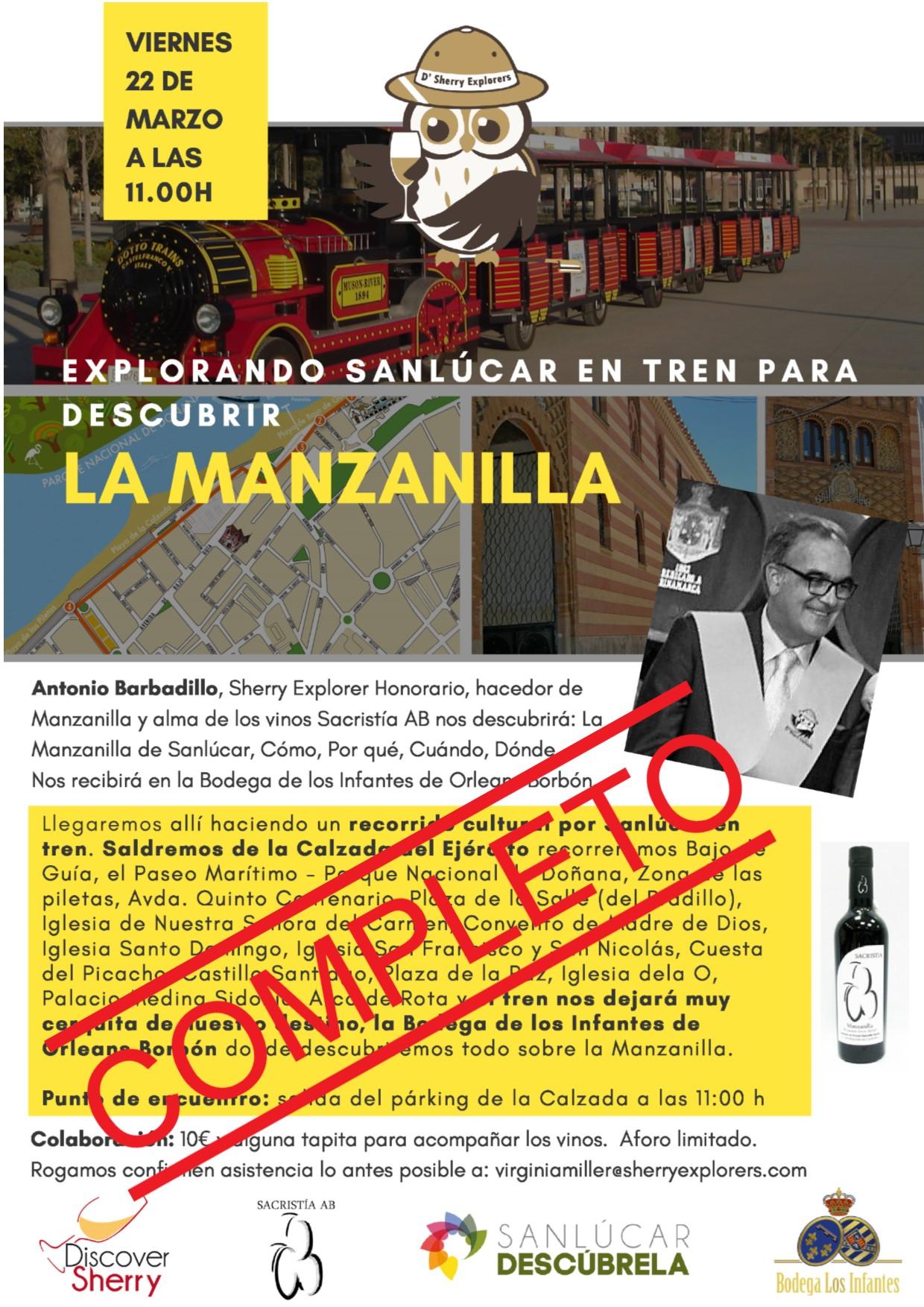 COMPLETO. Explorando Sanlúcar para descubrir la MANZANILLA!(Spanish)