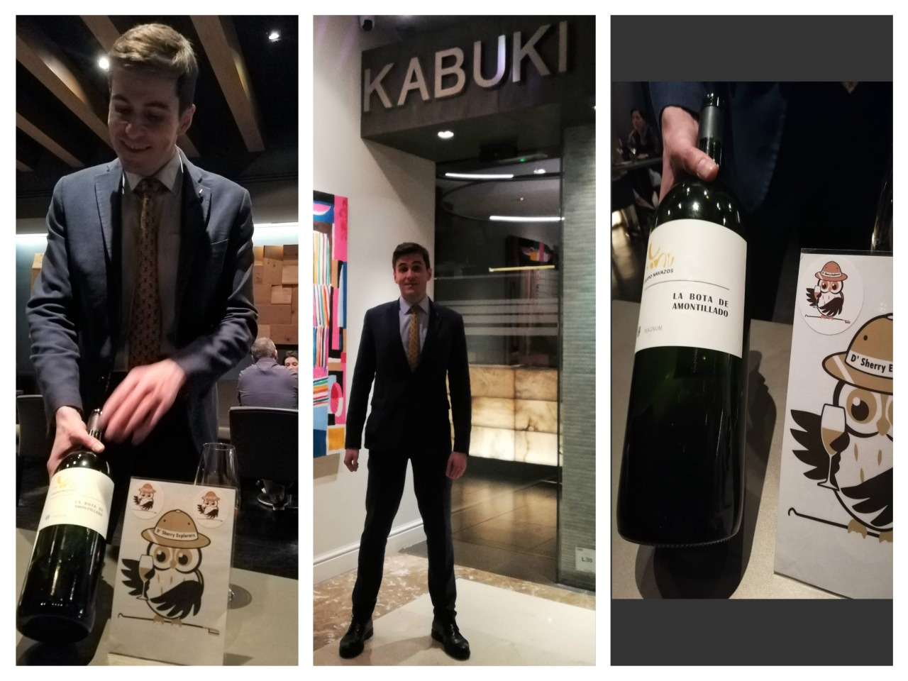 Discover Sherry recommends: Restaurante KABUKI, Hotel Wellington, Madrid