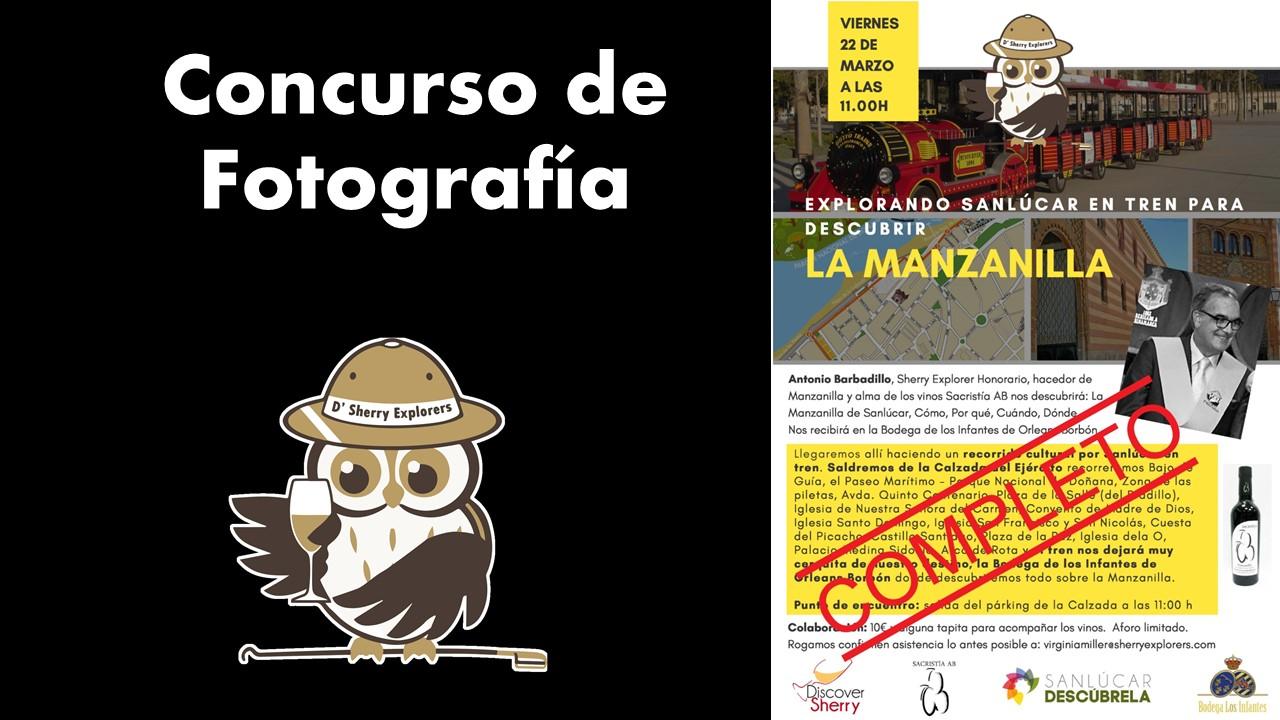 Concurso fotografía: Sanlúcar con Antonio Barbadillo en Bodega Infantes de Orleans Borbón/ Photo contest:  Sanlúcar with Antonio Barbadillo at the Infantes de Orleans Borbónwinery
