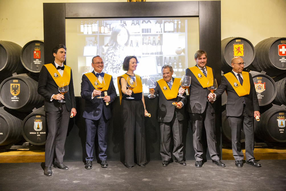 Nº 3. Nombramiento de los Sherry Explorers Honorarios 2019 / Nº 3. Ceremony naming the 2019 Honorary Sherry Explorers