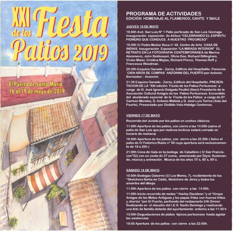 Fiesta de los Patios 2019– Toda la información(Spanish)