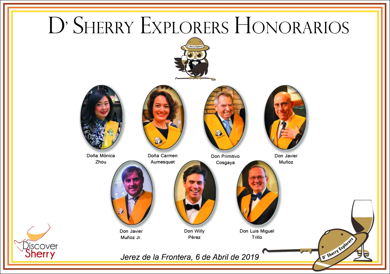 Sherry Explorers Honorarios 2019-ORLA