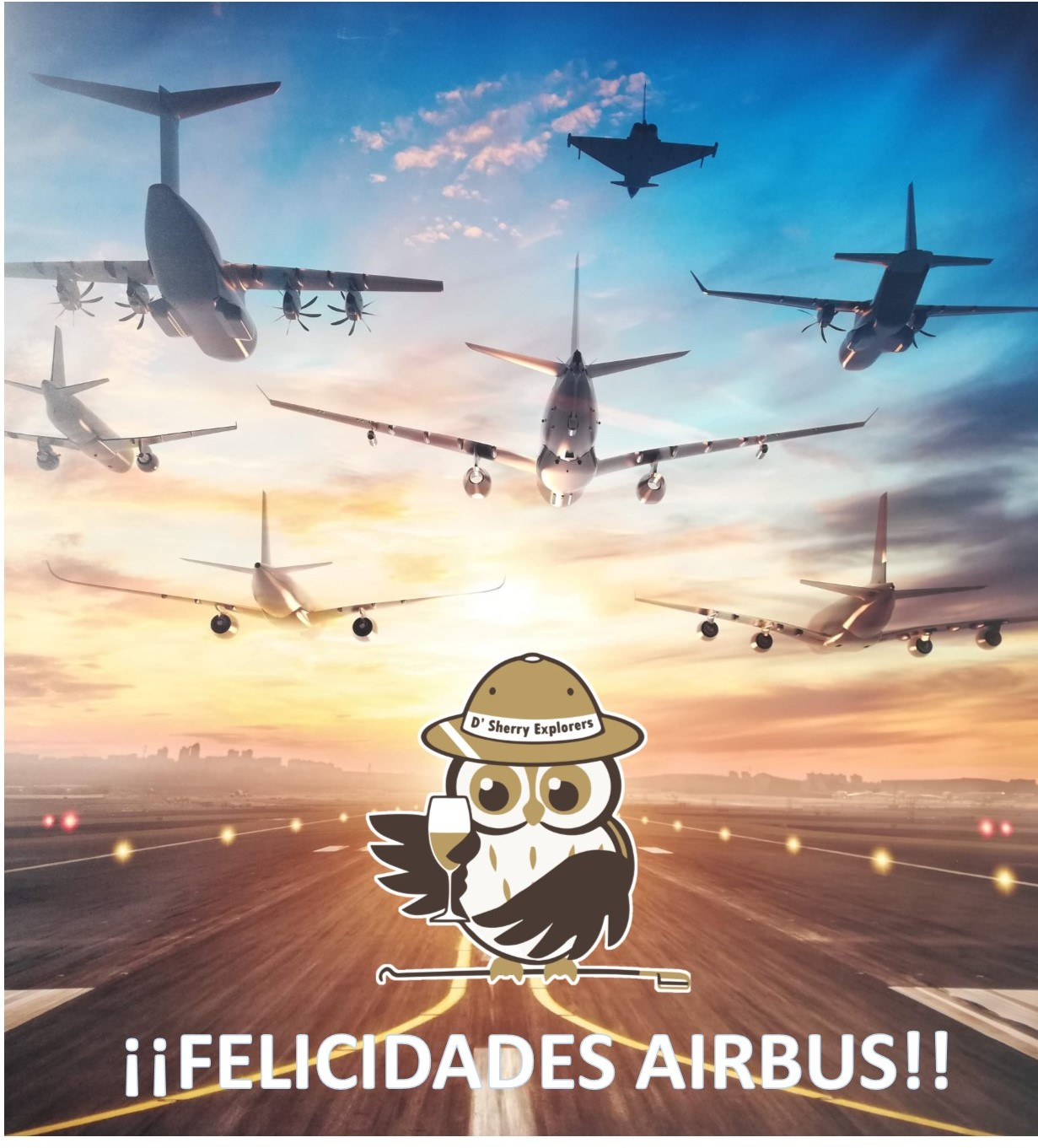 "Fiesta de los Patios Portuenses con Airbus: ""Liderando el progreso""/""Leaders of Progress"""