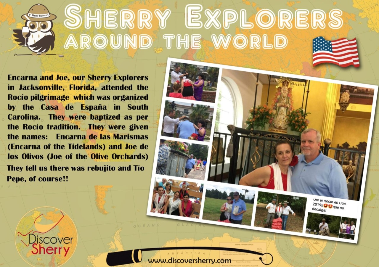Sherry Explorers por el Mundo: Encarna y Joe en USA / Sherry Explorers around the World: Encarna and Joe in the USA
