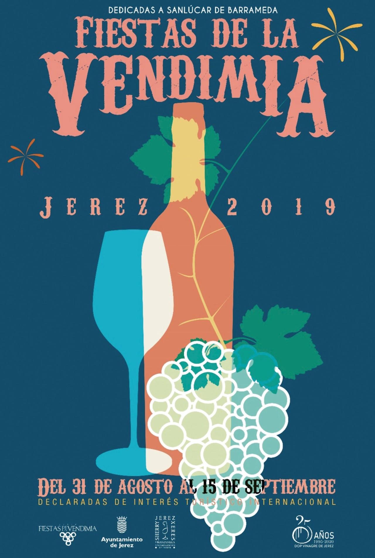 Fantástico programa de las Fiestas de la Vendimia de Jerez 2019(Spanish)