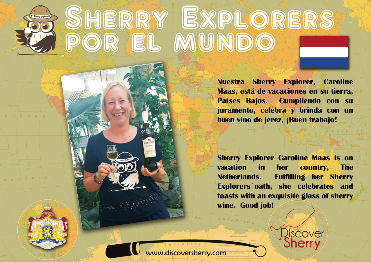 Sherry Explorers por el Mundo: Países Bajos / Sherry Explorers around the World: The Netherlands