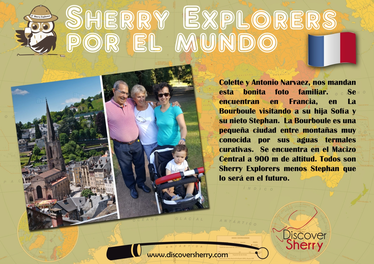 Sherry Explorers por el Mundo!  /  Sherry Explorers around the World!