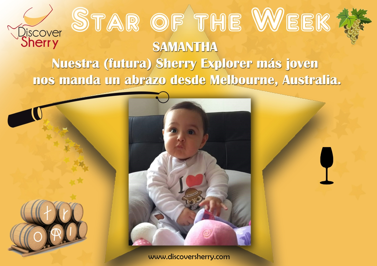 Star of the Week: SAMANTHA from Melbourne!