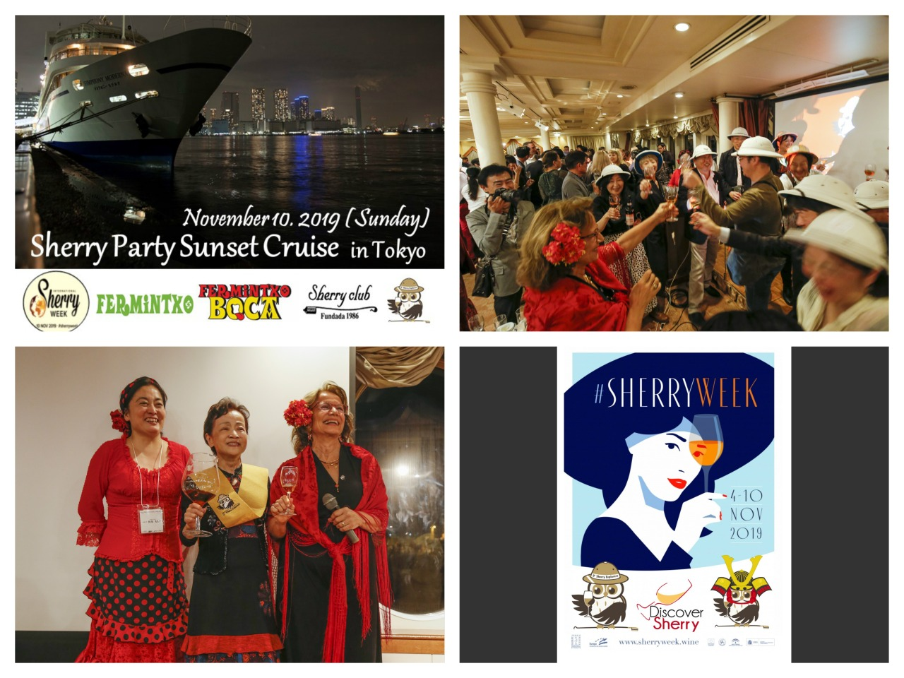 International Sherry Week por la Bahía de Tokyo…ALUCINANTE!!!/ International Sherry Week on Tokyo Bay…INCREDIBLE!!!