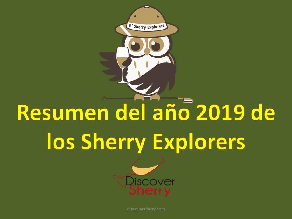Resumen del año 2019 de Los SherryExplorers
