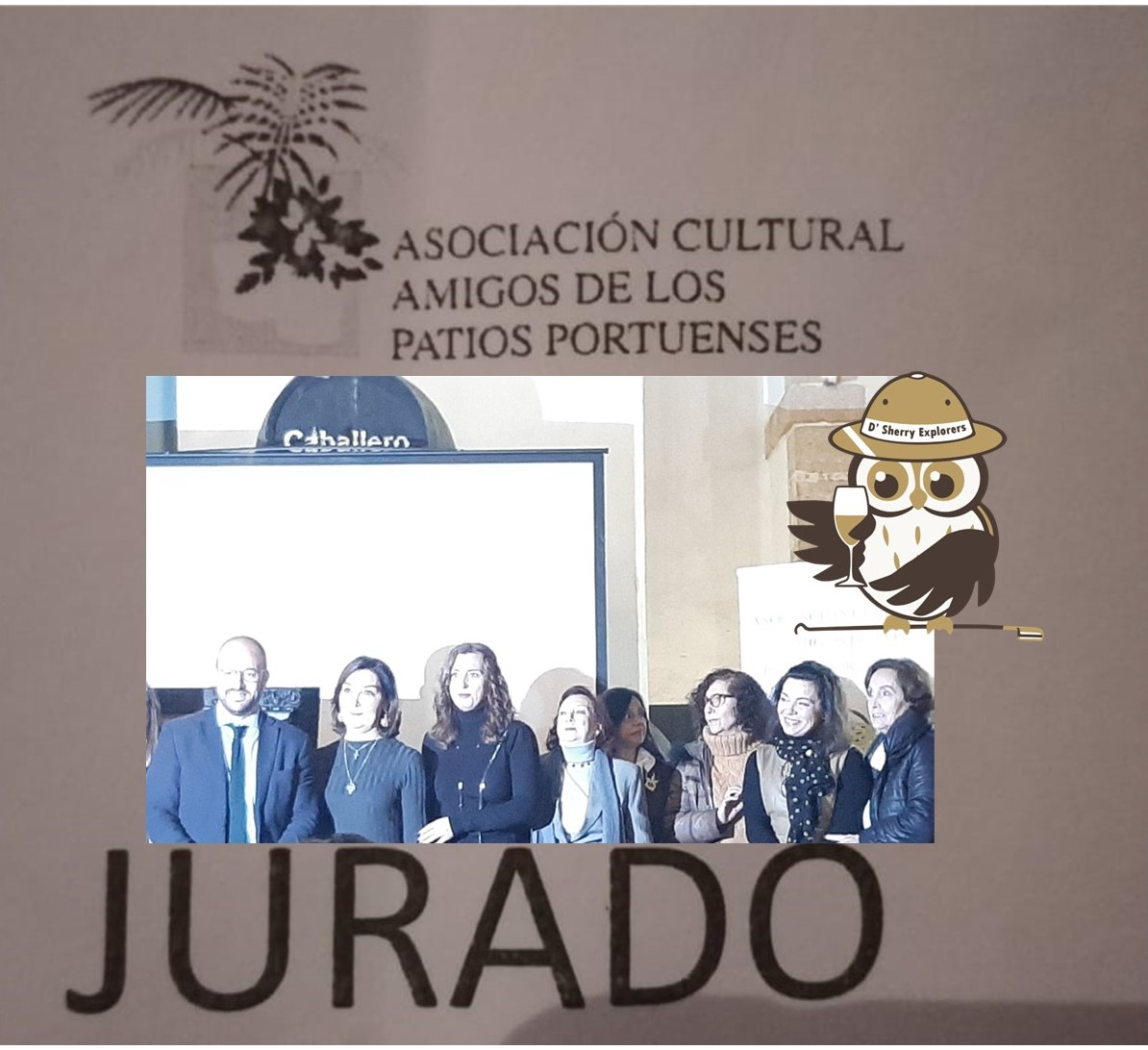 Sherry Explorers serán el jurado de la XXII Fiesta de los Patios Portuenses 2020./Sherry Explorers will be the judges for the XXII Fiesta of the Puerto Patios 2020.