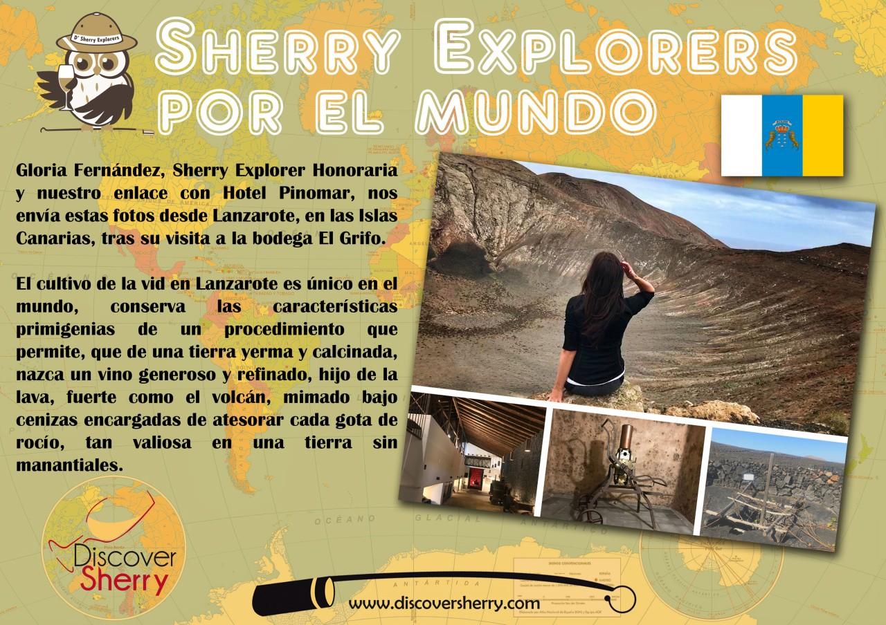 Sherry Explorers por el Mundo: Gloria enLanzarote