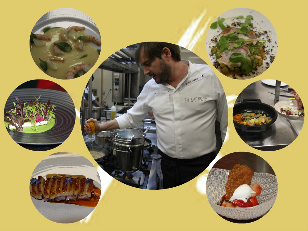 Master Class de Cocina en Directo en el Restaurante La Carboná/Show-cooking Master Class at La CarbonáRestaurant