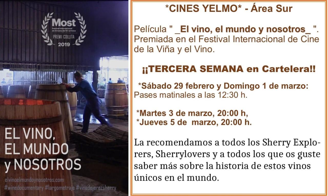 Discover Sherry recommends: El vino, el mundo y nosotros.(Spanish)
