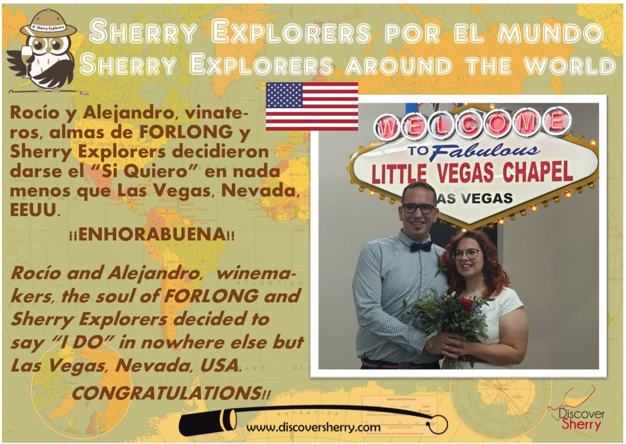 Sherry Explorers en Las Vegas y casados!! / Sherry Explorers in Las Vegas and married!!