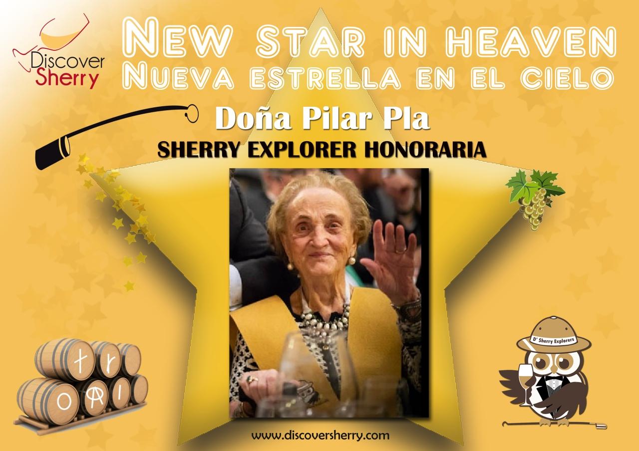 Doña Pilar Pla, nueva estrella en el cielo / New Star inHeaven
